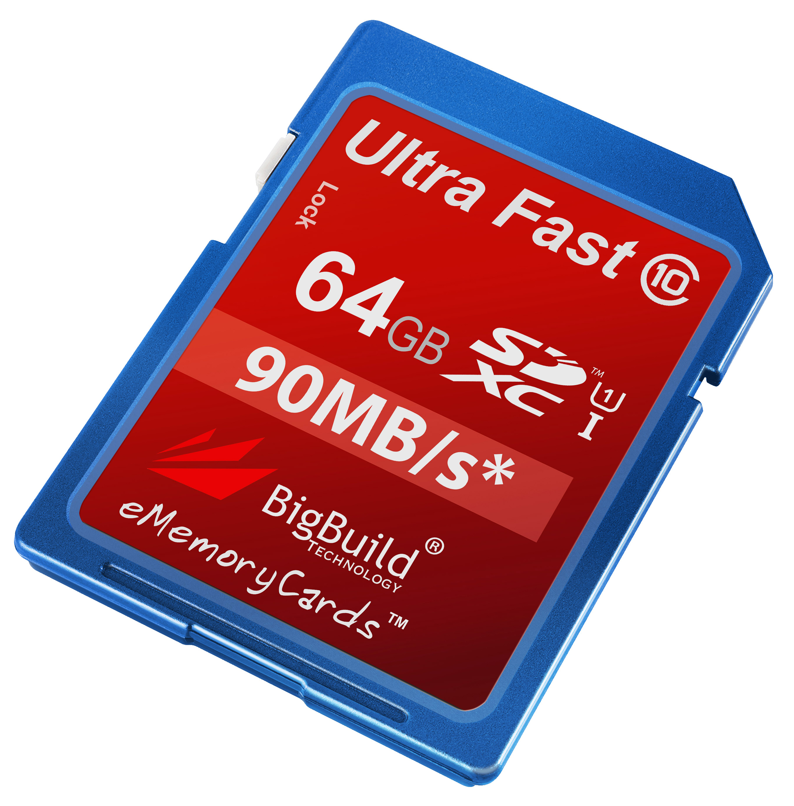 64GB Memory card for Canon IXUS 180 CameraClass 10 80MB//s SD SDXC New UK