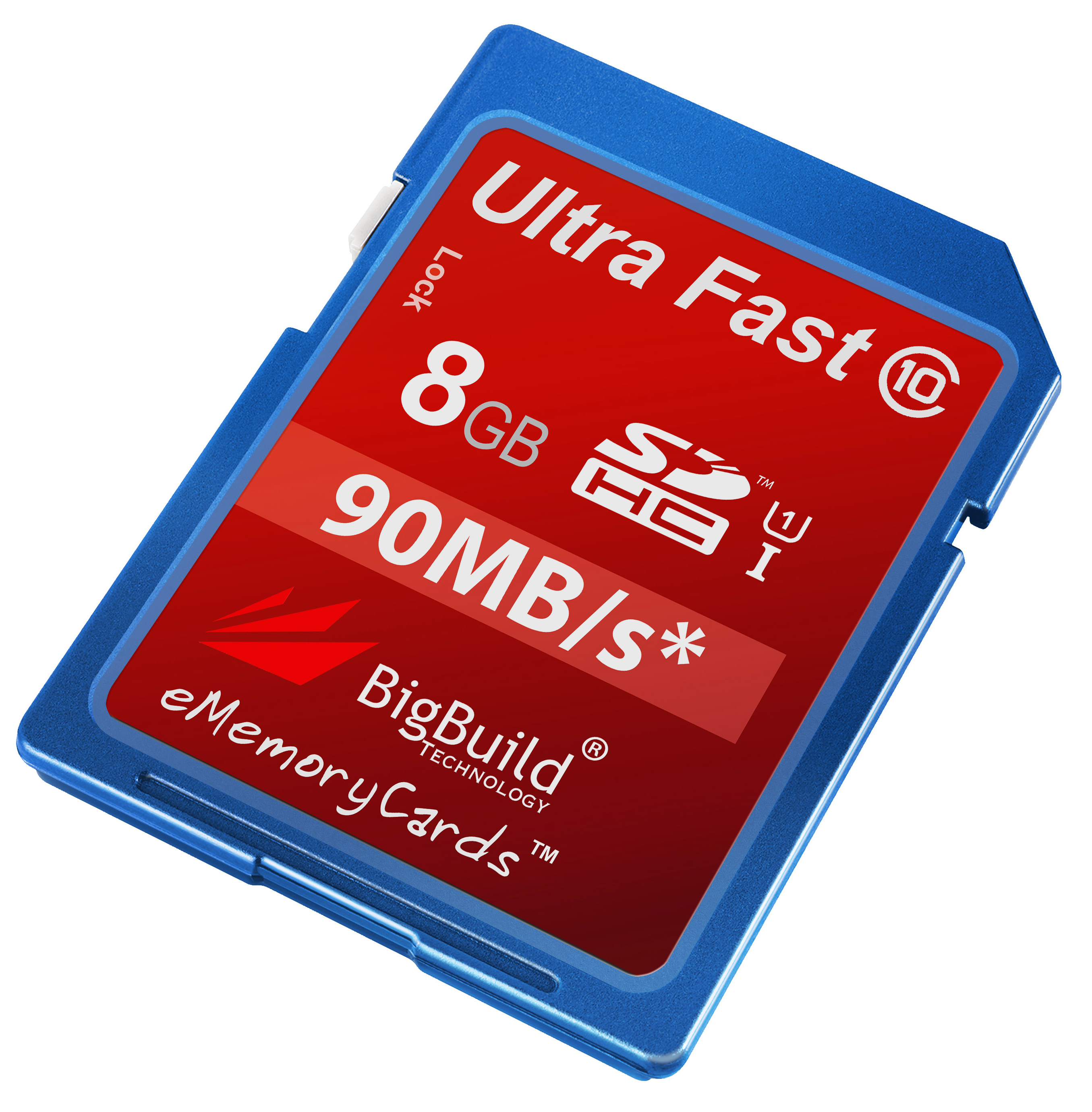 8GB Memory card for Sony HDR CX110E CamcorderClass 10 90MB//s SD SDHC New UK