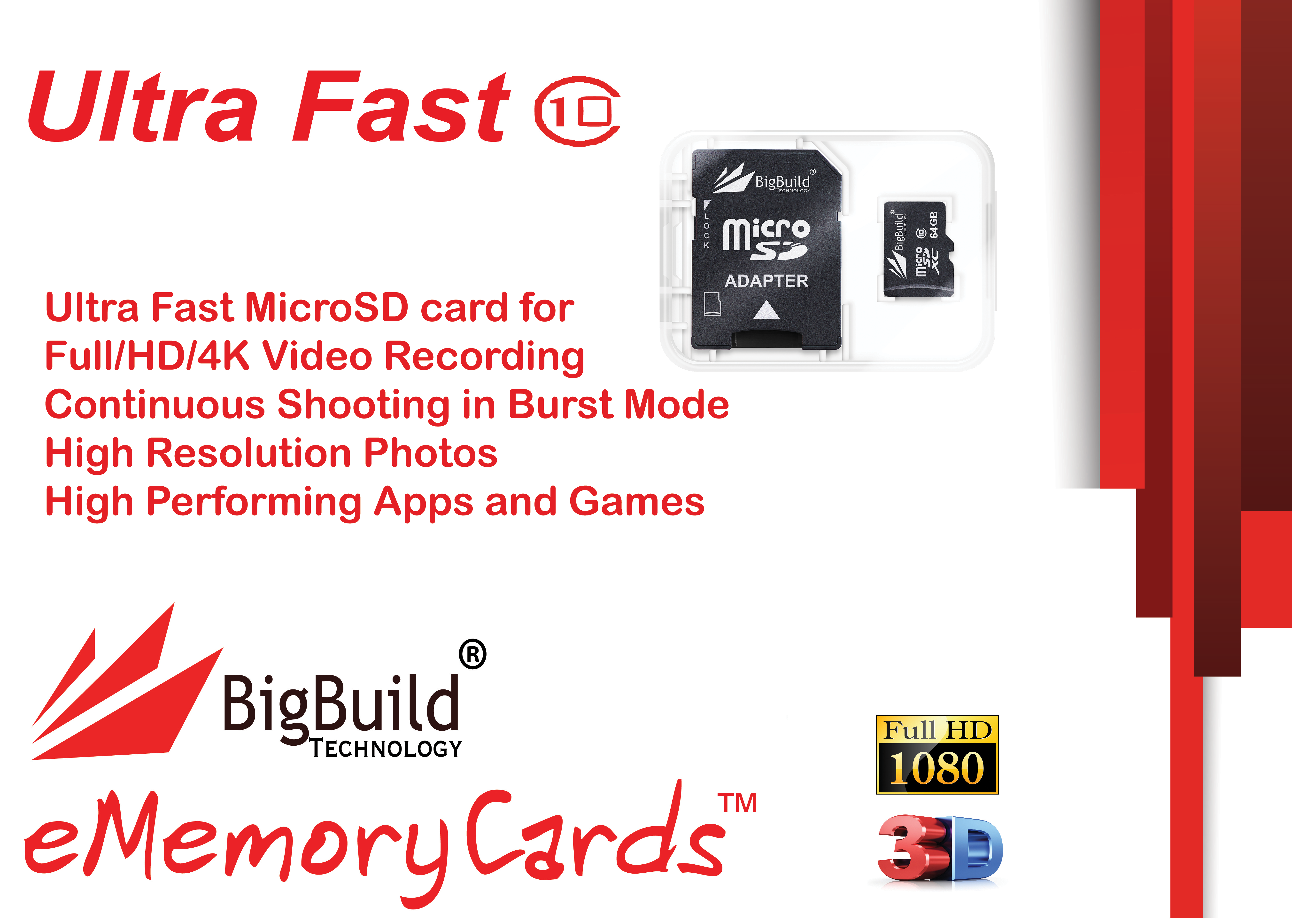 64GB Memory card for Samsung Galaxy 2 WiFi CameraClass 10 microSDXC New